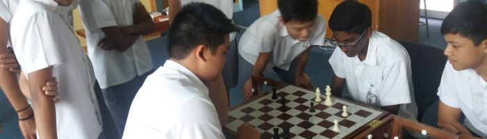 Chess playing in Library